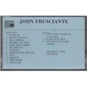Click here for more info about 'John Frusciante - John Frusciante'