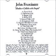 Click here for more info about 'John Frusciante - Shadows Collide With People'