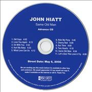 Click here for more info about 'John Hiatt - Same Old Man'