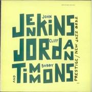 John Jenkins Jenkins, Jordan And Timmons France vinyl LP