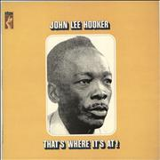 Click here for more info about 'John Lee Hooker - That's Where It's At! - 2nd'