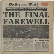 Click here for more info about 'John Lennon - 1980-81 Newspapers'