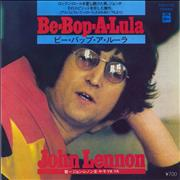 "John Lennon Be-Bop-A-Lula Japan 7"" vinyl"