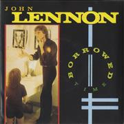 Click here for more info about 'John Lennon - Borrowed Time - Poster Slv'