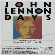 Click here for more info about 'John Lennon - Days Exhibition - Pair Of Handbills'