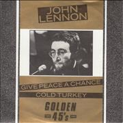 Click here for more info about 'John Lennon - Give Peace A Chance - Golden 45s'