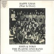 Click here for more info about 'John Lennon - Happy Xmas (War Is Over) - Green Vinyl'