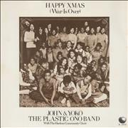 Click here for more info about 'John Lennon - Happy Xmas (War Is Over) - Green - P/S'