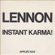 Click here for more info about 'John Lennon - Instant Karma! - P/S - EX'