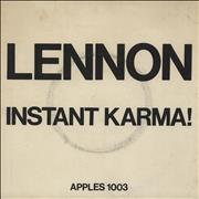 Click here for more info about 'John Lennon - Instant Karma! - P/S - VG'