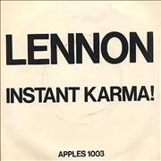 Click here for more info about 'John Lennon - Instant Karma! - P/S'