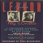 Click here for more info about 'John Lennon, My Brother'