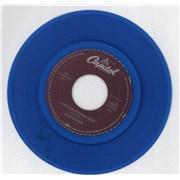 Click here for more info about 'John Lennon - (Just Like) Starting Over - blue vinyl'
