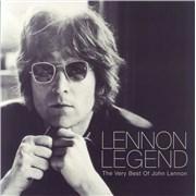 John Lennon Lennon Legend UK 2-LP vinyl set