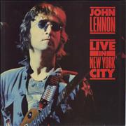 John Lennon Live In New York City UK vinyl LP