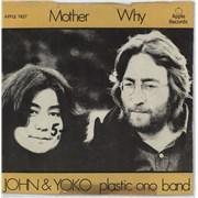 """John Lennon Mother Denmark 7"""" vinyl"""