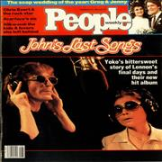 Click here for more info about 'John Lennon - People Weekly - February 1984'