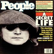 Click here for more info about 'John Lennon - People Weekly - two issues'