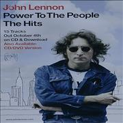Click here for more info about 'John Lennon - Power To The People - The Hits'