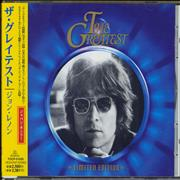 Click here for more info about 'John Lennon - The Greatest + Obi'