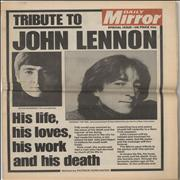 John Lennon Tribute To John Lennon UK magazine