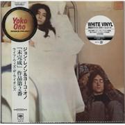 John Lennon Unfinished Music No. 2: Life With The Lions - White Vinyl Japan vinyl LP
