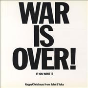 Click here for more info about 'John Lennon - War Is Over!'