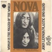 "John Lennon Woman Is The Nigger Of The World France 7"" vinyl"