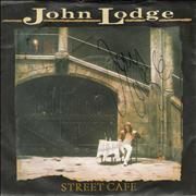 Click here for more info about 'John Lodge - Street Cafe - Autographed'