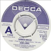Click here for more info about 'John Lodge - Summer Breeze - A Label'