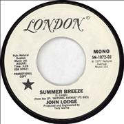 Click here for more info about 'John Lodge - Summer Breeze'