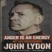 Click here for more info about 'John Lydon - Anger Is An Energy: My Life Uncensored - Softback'
