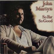 Click here for more info about 'John Martyn - So Far So Good - 1st - Gold promo stamped single sleeve'