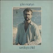 Click here for more info about 'John Martyn - Sunday's Child - 1st - EX'