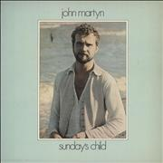Click here for more info about 'John Martyn - Sunday's Child - 1st'