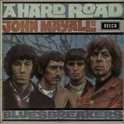 Click here for more info about 'John Mayall - A Hard Road - 1st with Die-cut back - EX'