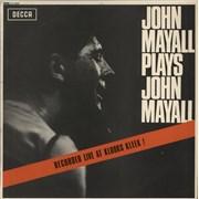 Click here for more info about 'John Mayall - John Mayall Plays John Mayall - 1st - EX'