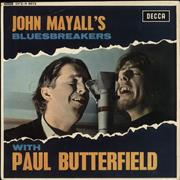 Click here for more info about 'John Mayall - John Mayall's Bluesbreakers With Paul Butterfield - VG'