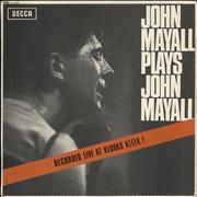 Click here for more info about 'Plays John Mayall'