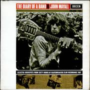 Click here for more info about 'John Mayall - The Diary Of A Band - Volume Two - EX'