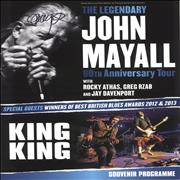 Click here for more info about 'John Mayall - The Legendary John Mayall 80th Anniversary Tour - Autographed'