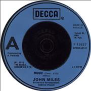 Click here for more info about 'John Miles - Music - injection moulded'
