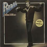 Click here for more info about 'John Miles - Rebel + Poster - Stickered Sleeve'