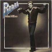 Click here for more info about 'John Miles - Rebel + Poster'