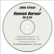 Click here for more info about 'John Otway - Bunsen Burner'