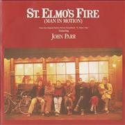 Click here for more info about 'John Parr - St. Elmo's Fire (Man In Motion) - P/S'