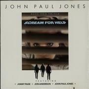 Click here for more info about 'John Paul Jones - Scream For Help - Sealed'