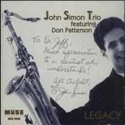 Click here for more info about 'John Simon (Jazz) - Legacy'