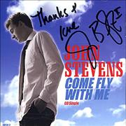 Click here for more info about 'John Stevens (American Idol) - Come Fly With Me - AUTOGRAPHED'