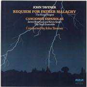 John Tavener Requiem For Father Malachy / Canciones Espanolas UK vinyl LP